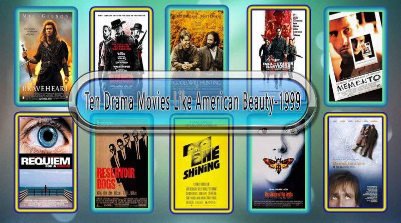 Ten Drama Movies Like American Beauty (1999)