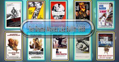 Ten Drama Movies Like Bullitt (1968)