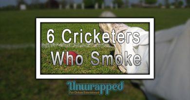 6 Cricketers Who Smoke