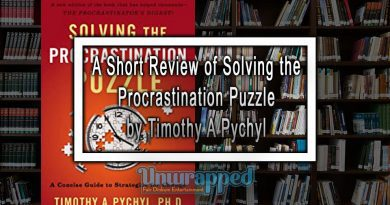 A Short Review of Solving the Procrastination Puzzle by Timothy A Pychyl