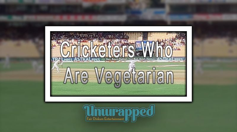 Cricketers Who Are Vegetarian