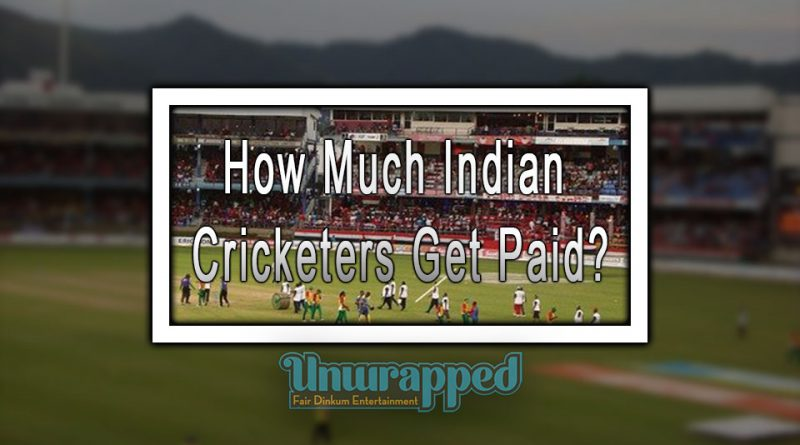 How Much Indian Cricketers Get Paid?