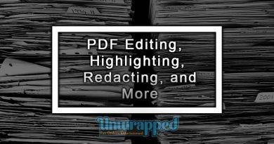 PDF Editing, Highlighting, Redacting, and More