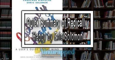Quick Summary of Radically Happy by Eric Solomon