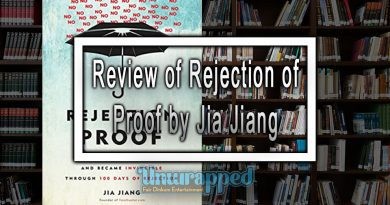 Review of Rejection of Proof by Jia Jiang