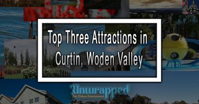 Top Three Attractions in Curtin, Woden Valley