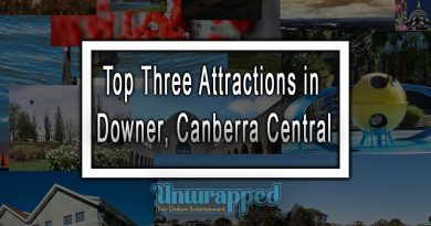 Top Three Attractions in Downer, Canberra Central