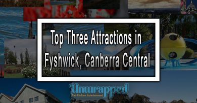 Top Three Attractions in Fyshwick, Canberra Central