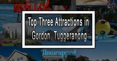 Top Three Attractions in Gordon, Tuggeranong