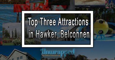 Top Three Attractions in Hawker, Belconnen
