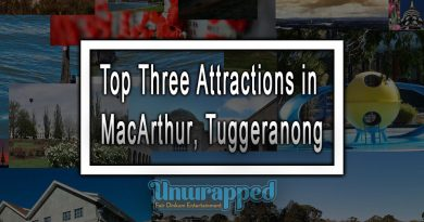 Top Three Attractions in MacArthur, Tuggeranong