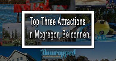 Top Three Attractions in Mcgregor, Belconnen
