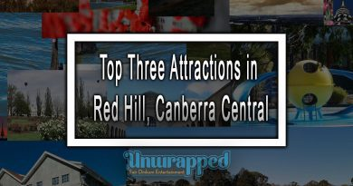 Top Three Attractions in Red Hill, Canberra Central