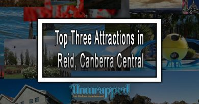 Top Three Attractions in Reid, Canberra Central
