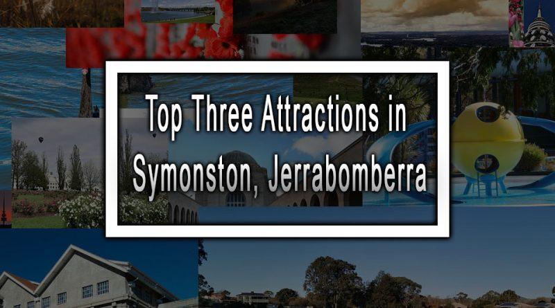 Top Three Attractions in Symonston, Jerrabomberra