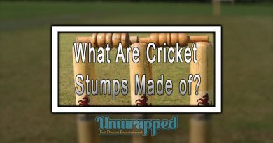 What Are Cricket Stumps Made of?