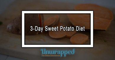 3-Day Sweet Potato Diet