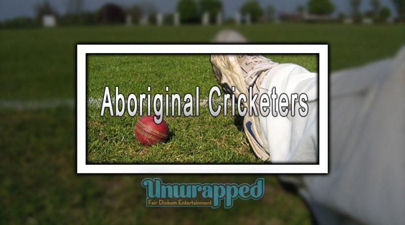 Aboriginal Cricketers