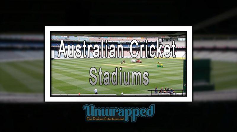 Australian Cricket Stadiums