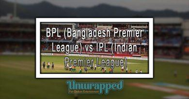 BPL (Bangladesh Premier League) vs IPL (Indian Premier League)