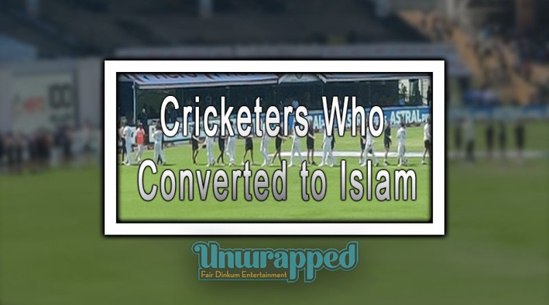 Cricketers Who Converted to Islam