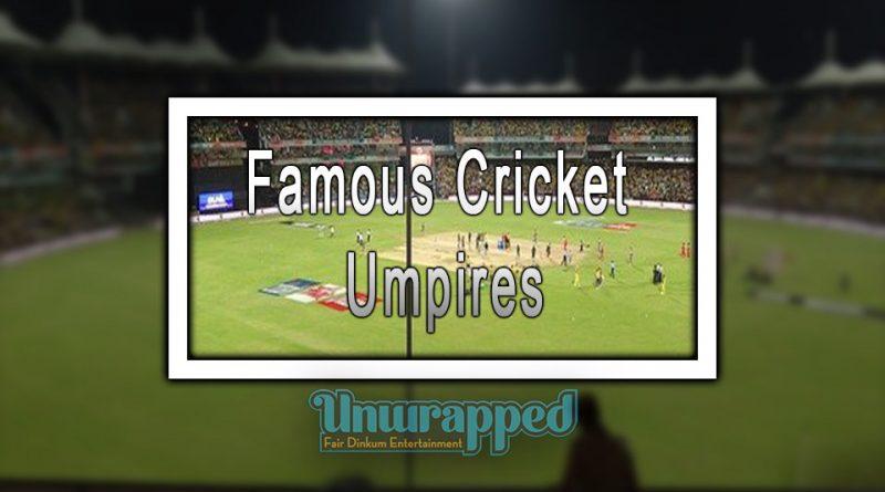 Famous Cricket Umpires