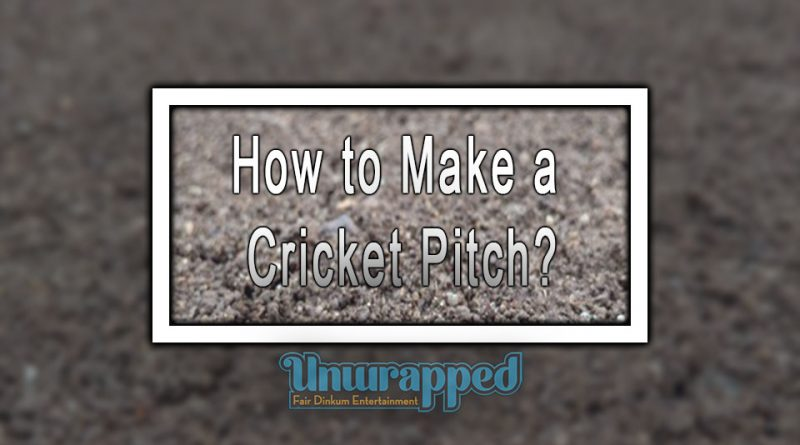 How to Make a Cricket Pitch?