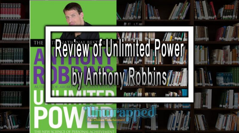 Review of Unlimited Power by Anthony Robbins