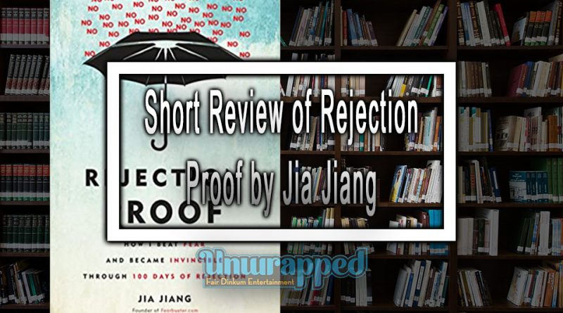 Short Review of Rejection Proof by Jia Jiang