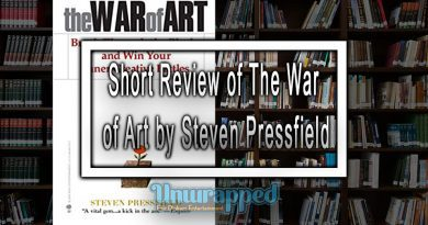 Short Review of The War of Art by Steven Pressfield