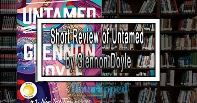 Short Review of Untamed by Glennon Doyle