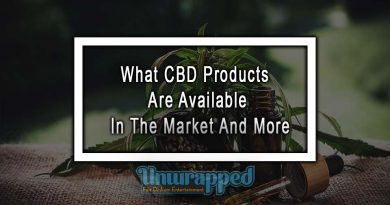 What CBD Products Are Available In The Market And More