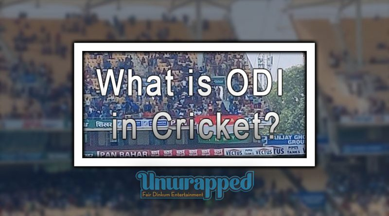 What is ODI in Cricket?