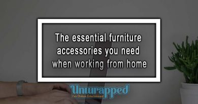 The essential furniture accessories you need when working from home